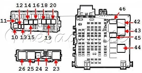 saab 9 3 headlight fuse wiring diagramsaab 9 3 relays fuses 5d 2 3l turbo at thesaabsite comsaab 9 3 headlight fuse