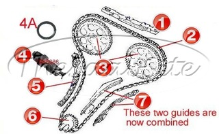 TIMING CHAIN COMPONENTS 2.0L (86-90)