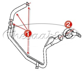 Saab 93 Fuel system 2003-2011 at Thesaabsite.com