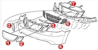 Saab 97X Body External at Thesaabsite.com